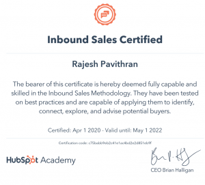 HubSpot Sales